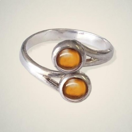 November (Topaz) Ring
