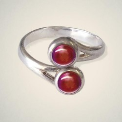 July (Ruby) Ring