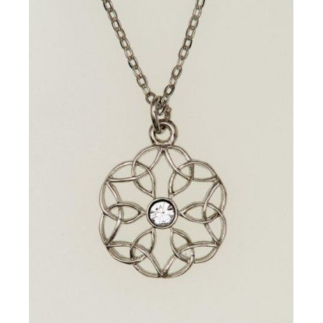 Cathedral Pewter Pendant