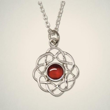 July (Ruby) Pendant
