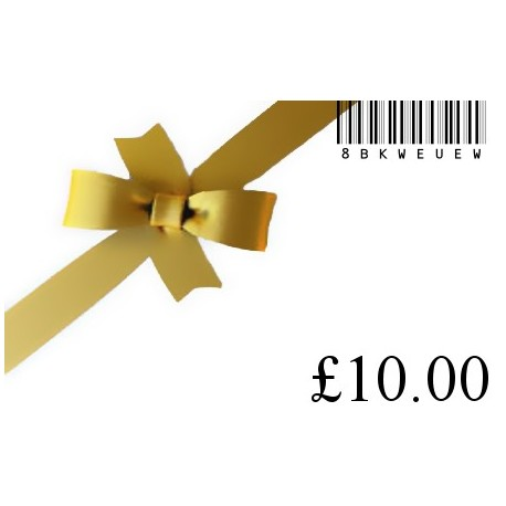 New gift card £10