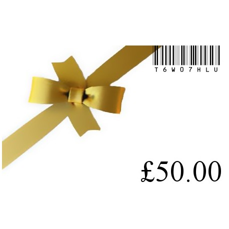 New gift card £50