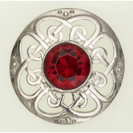 Culloden Plaid Brooch
